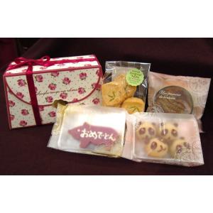 【おめでとんギフトBox】要冷蔵、かわいいブタさんクッキーや動物フィナンシェが入ったギフトセット|mayfair-net