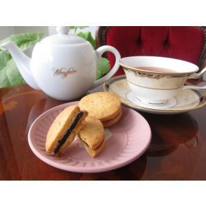 【チョコサンドクッキー(カシューナッツ&ビターチョコ)】(2個入り)要冷蔵、カシューナッツ入りクッキーでビターチョコを挟んだクッキー mayfair-net