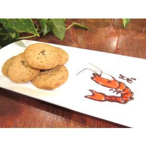 【えび塩クッキー(3枚入り)】小えびをたっぷり入れた薄焼きクッキー、ミネラル豊富な佐渡の海洋深層水の塩を使用 mayfair-net