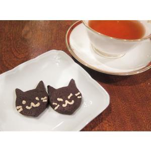 【黒猫クッキー(2枚入り)】ハロウィンの黒ネコのお菓子、プチギフトやハロウィンパーティーにぴったり mayfair-net