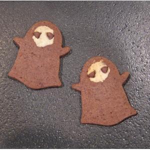 【死神ちゃんクッキー(2枚入り)】ハロウィンの死神のお菓子、プチギフトやハロウィンパーティーにぴったり mayfair-net
