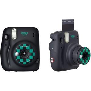FUJIFILM インスタントカメラ チェキ instax mini 11 「鬼滅の刃」BOX 「竈門炭治郎」モデル INS MINI 11 KIMETSU GRAY|maymaymall