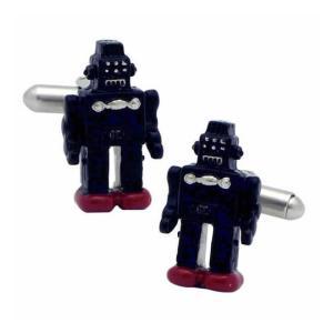 父の日 父親 贈り物 SWANK カフス カフリンクス ロボットのカフス mays-jewelry