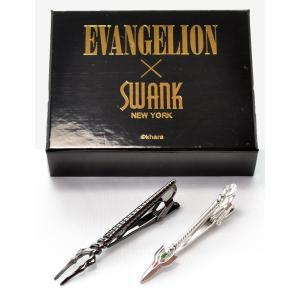 父の日 父親 贈り物 フレッシャーズ エヴァンゲリオン タイピン ロンギヌスの槍&カシウスの槍タイバー|mays-jewelry