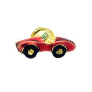 クールビズ 贈り物 SWANK ピンズ ワインレッドクラシックカーのピンズ|mays-jewelry