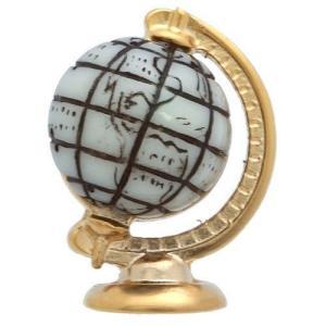 クールビズ 贈り物 ギフト プレゼント SWANK ピンズ 地球儀のピンズ|mays-jewelry