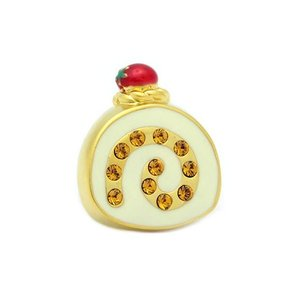 クールビズ 贈り物 SWANK ピンズ ロールケーキのピンズ|mays-jewelry