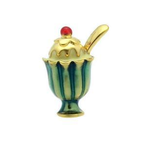 父の日 父親 贈り物 SWANK ピンズ パフェのピンズ mays-jewelry