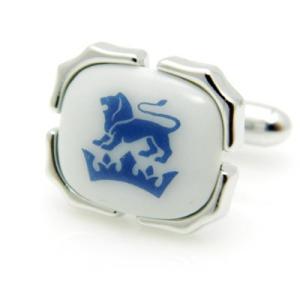 父の日 父親 贈り物 SWANK & Royal Copenhagen スワンク & ロイヤルコペンハーゲン コラボ 獅子のカフス|mays-jewelry
