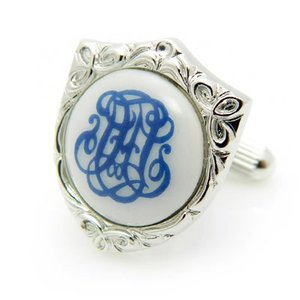 父の日 父親 贈り物 SWANK & Royal Copenhagen スワンク & ロイヤルコペンハーゲン コラボ カフス|mays-jewelry