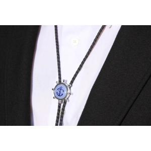 父の日 父親 贈り物 SWANK & Royal Copenhagen スワンク & ロイヤルコペンハーゲン コラボ イカリのループタイ|mays-jewelry