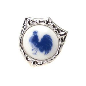 クールビズ 贈り物 SWANK & Royal Copenhagen スワンク & ロイヤルコペンハーゲン 干支(酉年)  ピンズ|mays-jewelry