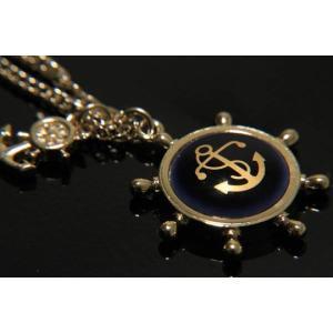 父の日 父親 贈り物 SWANK & Royal Copenhagen スワンク & ロイヤルコペンハーゲン コラボ イカリのネックレス(ゴールド)|mays-jewelry