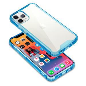 BLIXIA公式 【BLIXIA】 iPhone12 12mini 12Pro 12ProMax 専用 カラークリアケース 保護ケース 衝撃吸収 透明 mayumi