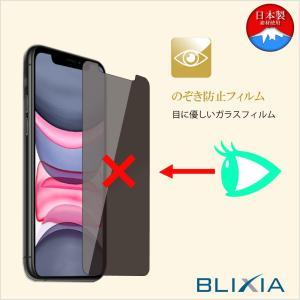 BLIXIA公式 【BLIXIA】 iPhone 11 / 11Pro / 11ProMax 覗き見防止9Hガラス保護フィルム 液晶保護 硬度9H 保護シート 画面割れ防止 破損防止 プライバシー保護 mayumi