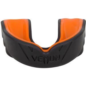 VENUM マウスピース/マウスガード Challenger (黒/オレンジ) (ケースつき)