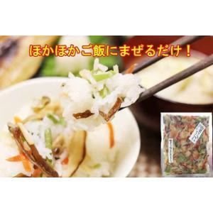 山菜きのこちらし(3合分)  まざっせこらっせの商品5000円以上お買い上げで送料無料|mazassekorasse