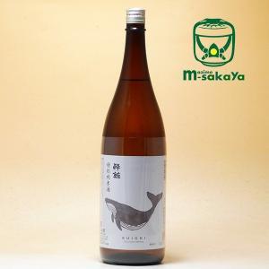 酔鯨酒造 高知の酒 特別純米酒 酔鯨 (すいげい) 1800ml SUIGEI Drunken Wh...