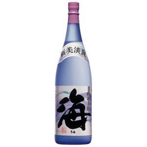 大海酒造 芋焼酎 25度 黄麹 減圧蒸留 新美淡麗 海(うみ) 1,800ml BOX受取対象商品