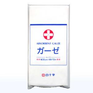 局方ガーゼタイプI   使用する分だけ切って使える10m巻  未滅菌  綿100%純綿布 医療用ガー...