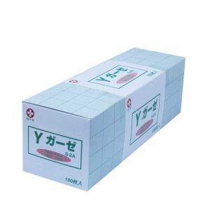 白十字 Yガーゼ S-2A 未滅菌 タイプII 7.5cm×7.5cm 12ply 100枚入|mb-web