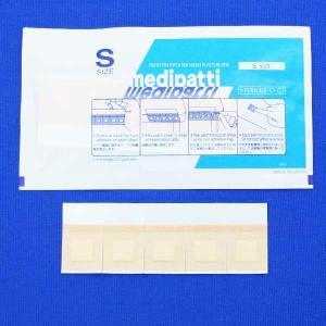 白十字 注射用保護パッド メディパッチ 25枚×4袋入(穿刺部被覆保護用パッド付絆創膏)|mb-web|02