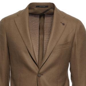 タリアトーレ TAGLIATORE 2つボタン シングルジャケット MONTECARLO モンテカルロ ブラウン メンズ 1smc22k-12uig238-a3023|mb-y