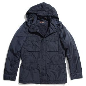 アスペジ ASPESI 中綿入り フィールドジャケット MINIFIELD JACKET ブルー メンズ 2i17-7954|mb-y
