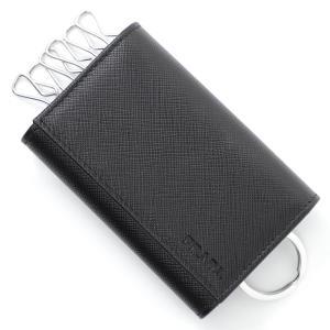 プラダ PRADA キーケース SAFFIANO ブラック メンズ 2pg002-053-f0002|mb-y