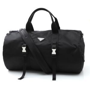 プラダ PRADA ダッフルバッグ TESSUTO SAFFIANO ブラック メンズ 2vc015-vmon973-f0002 mb-y