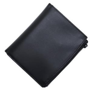 メゾンマルジェラ Maison Margiela 2つ折り 財布 小銭入れ付き  11 女性と男性のためのアクセサリーコレクション ブラック メンズ|mb-y