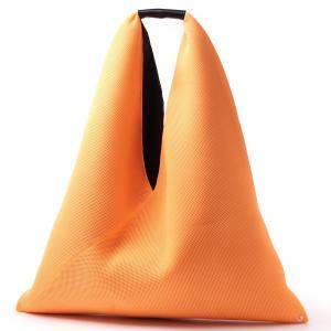 エムエム 6 メゾンマルジェラ MM6 Maison Margiela トートバッグ ジャパニーズ オレンジ レディース s41wd0034-pr992-h2804|mb-y