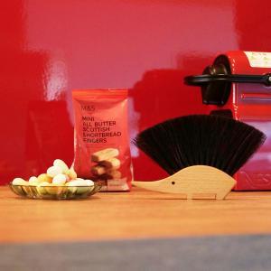 レデッカー REDECKER テーブルブラシ ベージュ ドイツ ブラシ キッチン用品 テーブル ハリネズミ 掃除 421110 TABLE BRUSH-HEDGEHOG