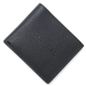 e825c53596a9 バレンシアガ BALENCIAGA 2つ折り 財布 SHOPPING SQUARE WALLET ショッピング スクエア ウォレット ブラック メンズ  485108-0oshn-1000