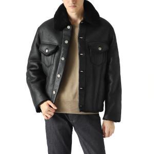 メゾンマルジェラ Maison Margiela レザージャケット 10 男性のためのコレクション ブルゾン ブラック メンズ s50am0478-sy1399-900|mb-y