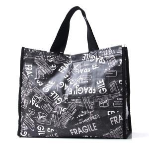 エムエム 6 メゾンマルジェラ MM6 Maison Margiela トートバッグ ブラック レディース ギフト プレゼント ショッピング 54wc0051-184-961 FRAGILE|mb-y
