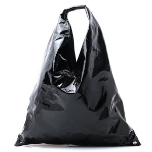 エムエム 6 メゾンマルジェラ MM6 Maison Margiela トートバッグ ジャパニーズ ブラック レディース s54wd0039-p0046-t8013 mb-y