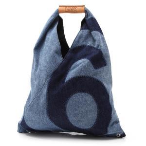 エムエム 6 メゾンマルジェラ MM6 Maison Margiela トートバッグ ブルー レディース s54wd0043-p3536-h7926|mb-y