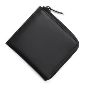 メゾンマルジェラ Maison Margiela ラウンドファスナー 財布 小銭入れ付き 11 女性と男性のためのアクセサリーコレクション ブラック メンズ|mb-y