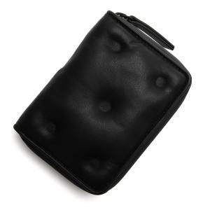 メゾンマルジェラ Maison Margiela 2つ折り財布 小銭入れ付き (11)GLAM SLAM グラムスラム ブラック メンズ s55ui0281-pr818-t8013|mb-y