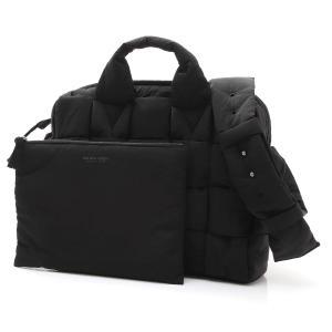 ボッテガヴェネタ BOTTEGA VENETA ハンドバッグ THE PADDED TECH CASE ショルダーバッグ トートバッグ ブラック メンズ 628960-vbo81-8803|mb-y
