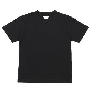 ボッテガヴェネタ BOTTEGA VENETA クルーネック Tシャツ T-SHIRT SUNRISE LIGHT COTTON ブラック メンズ 630974-vf1u0|mb-y