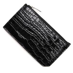 サンローランパリ SAINT LAURENT PARIS カードケース ブラック レディース 631992-dnd0n-1000|mb-y