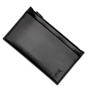 サンローランパリ SAINT LAURENT PARIS ポーチ TINY MONOGRAM BILL POUCH ブラック メンズ 636329-1jb0u-1000|mb-y