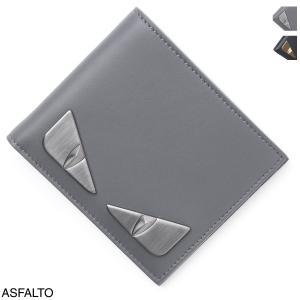 フェンディ FENDI 2つ折り 財布 メンズ 7m0169-sqp-f1386|mb-y