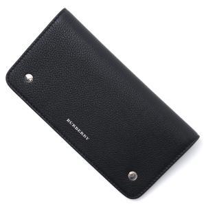 バーバリー BURBERRY 長財布 フォンウォレット ブラック レディース 8005577-black mb-y
