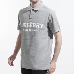バーバリー BURBERRY ポロシャツ LOGO PRINT COTTON PICKET POLO...