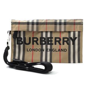 バーバリー BURBERRY ポーチ VINTAGE CHECK ヴィンテージチェック ベージュ レディース 8015050-archivebeige|mb-y