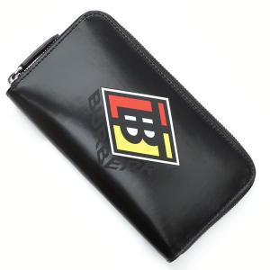 バーバリー BURBERRY ラウンドファスナー 長財布 小銭入れ付き  ブラック メンズ 8021770-black|mb-y