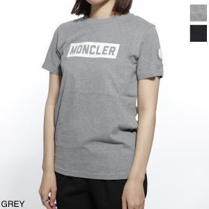 モンクレール MONCLER クルーネック Tシャツ レディース 8026950-83092-987|mb-y